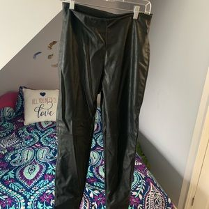 Divided by H&M faux leather pants
